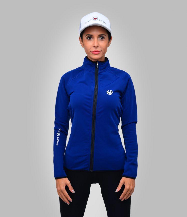 smart-toddis-womens-heated-zip-top-ANTARCTIC-LASS-ocean-blue